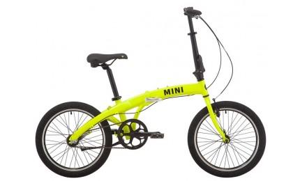 "Велосипед 20"" Pride MINI 3 неон/лайм 2019"