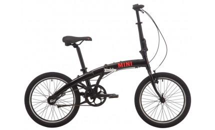 """Велосипед 20"""" Pride MINI 3 черный/ярко-красный 2019"""