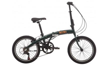 "Велосипед 20"" Pride MINI 6 темно-зеленый 2019"