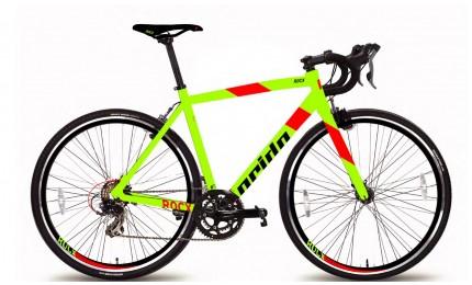 "Велосипед 28"" Pride RoCX 8.1 рама - 52 см лайм / красный 2018"
