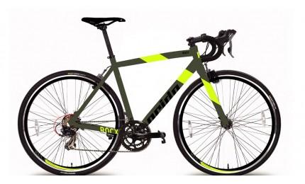 """Велосипед 28"""" Pride RoCX 8.2 рама - 58 см хаки / лайм 2018"""
