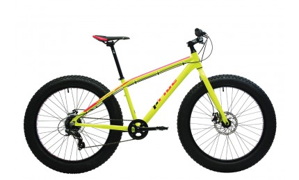 "Велосипед 26"" Pride DONUT 6.1 рама - M оранжевый / жёлтый 2018"