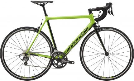 "Велосипед 28"" Cannondale SuperSix EVO Crb Tgra GRN рама - 58 см зеленый 2018"