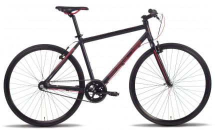 Велосипед PRIDE BULLET 28'' черно-красный