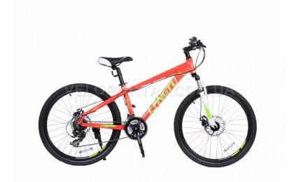 """Велосипед 24"""" Langtu KLT700A(16) Красный/ Зеленый"""