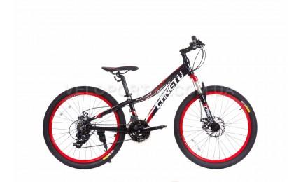"""Велосипед 24"""" Langtu KLT700S Черный/ Красный"""