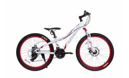 """Велосипед 24"""" Langtu KLT700S Белый/ Красный"""