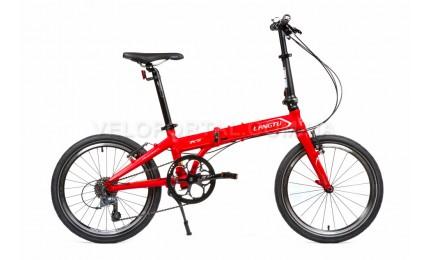 """Велосипед 20"""" Langtu K8 Матовый Красный/ Серебристый"""