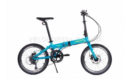 """Велосипед 20"""" Langtu K16(16-SPT) Матовый Синий/ Зеленый"""