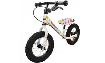 "Беговел Kiddimoto Super Junior MAX SUPER DOTTY 12"" металлический"