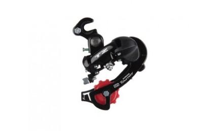 Переключатель задний Shimano Tourney RD-TZ50 крюк 6/7 скоростей