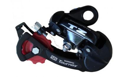 Переключатель задний Shimano Tourney RD-TZ50 болт 6/7 скоростей