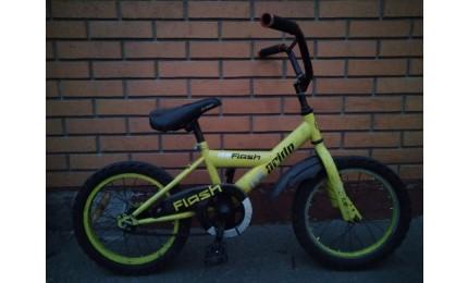 """Велосипед 16"""" Pride FLASH желтый Б/У"""