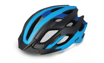 Шлем R2 TOUR голубой/ черный глянец L (58 - 61 см)