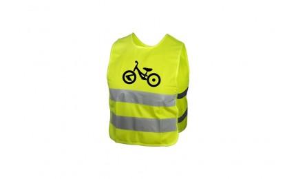 Світловідбиваючий жилет KLS Starlight дитячий bike - M
