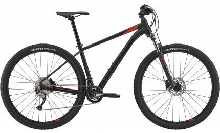 """Велосипед 27,5"""" Cannondale Trail 6 BLK рама - M черный матовый 2018"""