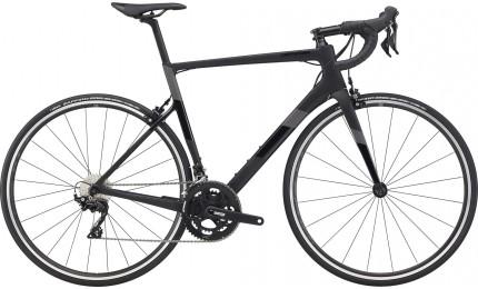 "Велосипед 28"" Cannondale SUPERSIX Carbon 105 рама - 48см 2020 BBQ, чорный"