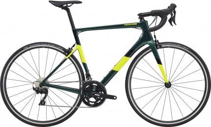 "Велосипед 28"" Cannondale SUPERSIX Carbon 105 рама - 58см 2020 EMR, смарагдовий"
