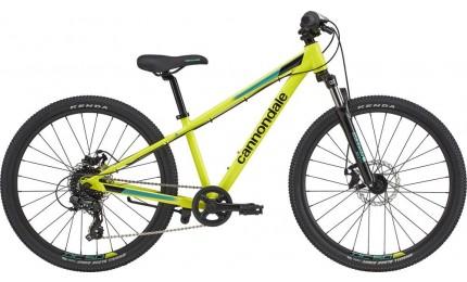 "Велосипед 24"" Cannondale TRAIL GIRLS OS 2020 NYW, неон-жовтий"
