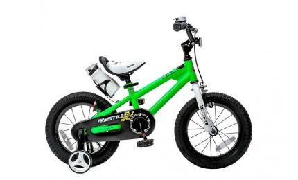 "Велосипед RoyalBaby FREESTYLE 14"", зеленый"