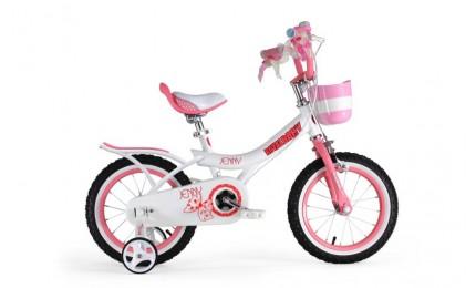 "Велосипед RoyalBaby JENNY GIRLS 12"", OFFICIAL UA, белый"