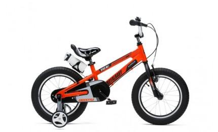 """Велосипед RoyalBaby SPACE NO.1 Alu 18"""", OFFICIAL UA, оранжевый"""