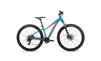 Велосипед підлітковий Orbea MX 27 ENT Dirt рама-XS Blue-Red