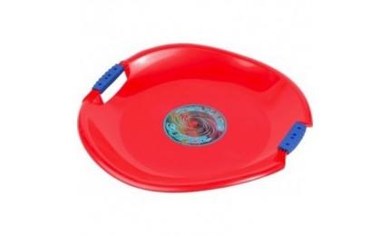 Ледянка-диск PLAST KON TORNADO SUPER красный