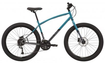 """Велосипед 27,5"""" Pride Rocksteady 7.2 рама -  XL бірюза/сірий 2020"""