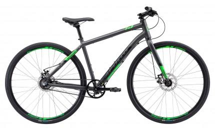 "Велосипед 28"" Apollo TRACE 45 рама - XL matte charcoal/matte black/matte neon green"